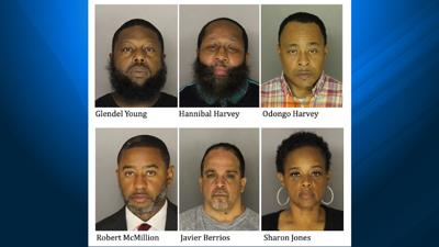 6 accused of cocaine trafficking