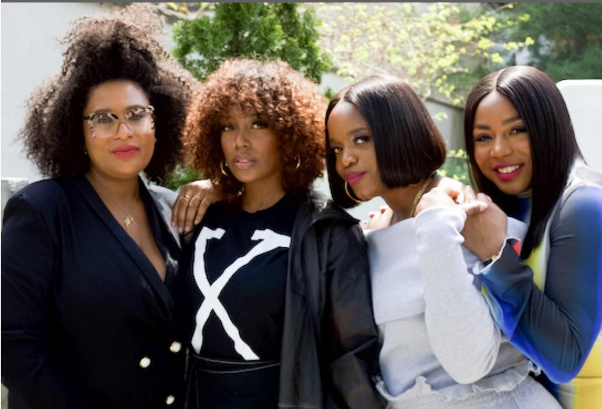 Wakati Gathers Game-Changing Black Women For Crown Conversations. Pictured L-R: Cosmopolitan Magazine Beauty Director, Julee Wilson, Media Personality, Scottie Beam, Activist and Host of Undistracted Podcast, Brittany Packnett Cunningham, Media Maven, Kéla Walker.