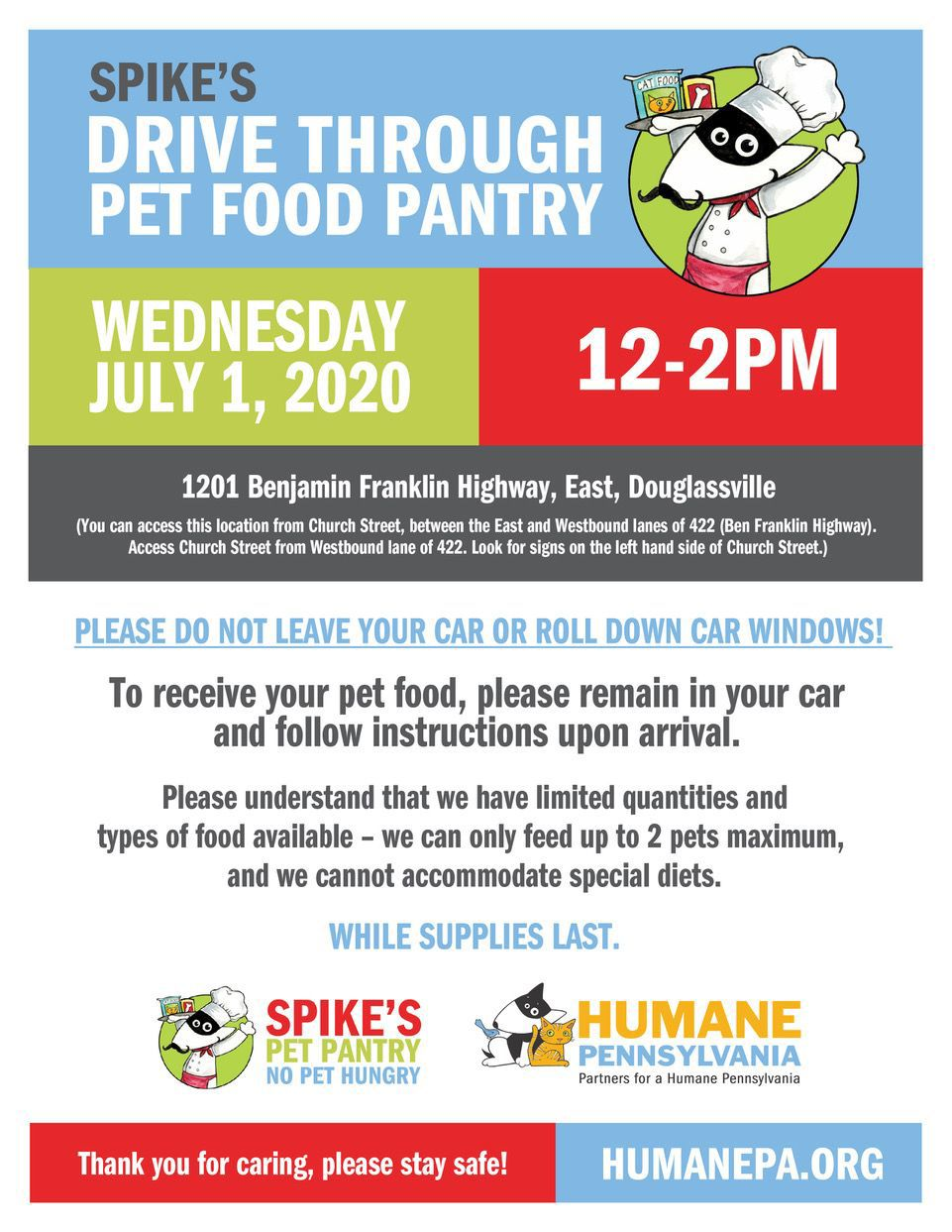 Spike's Pet Pantry poster