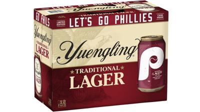 Yuengling Lager - Philadelphia Phillies can pack