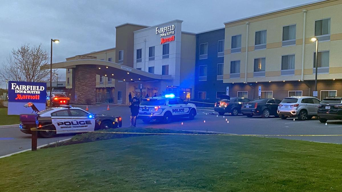 Shooting at Fairfield Inn & Suites in Spring Township