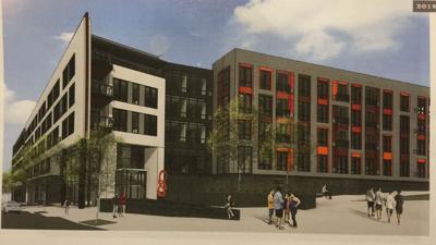 Developer scales back plans for Five City Center apartment building