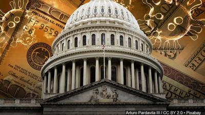 Capitol - COVID-19 - coronavirus cash - money