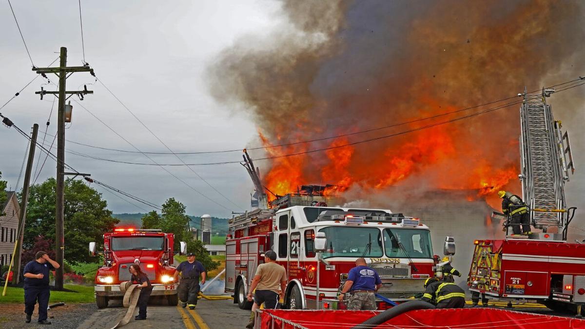 Maxatawny Barn Fire
