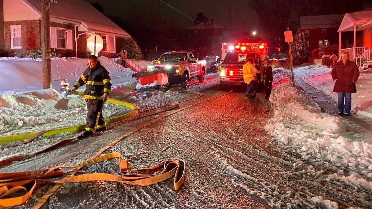 Fire at Western Berks Ambulance building