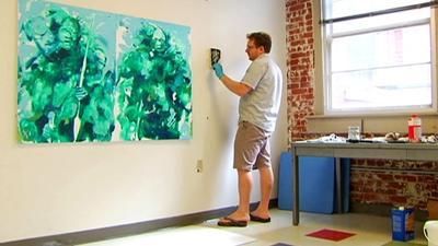 Minimum wage work… of art; artist takes unique approach