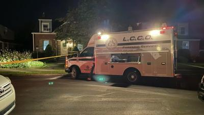 Lehigh County Coroner's Office Forensic Services at Allentown shooting scene