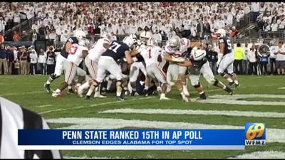 Penn State ranked 15th in AP preseason poll