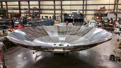 Solarflux Energy Technologies solar dish