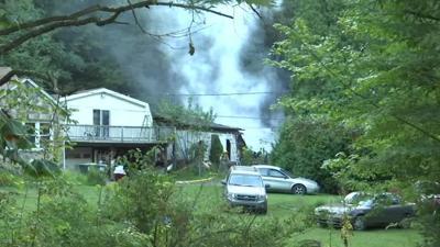 Fire tears through home in Monroe County