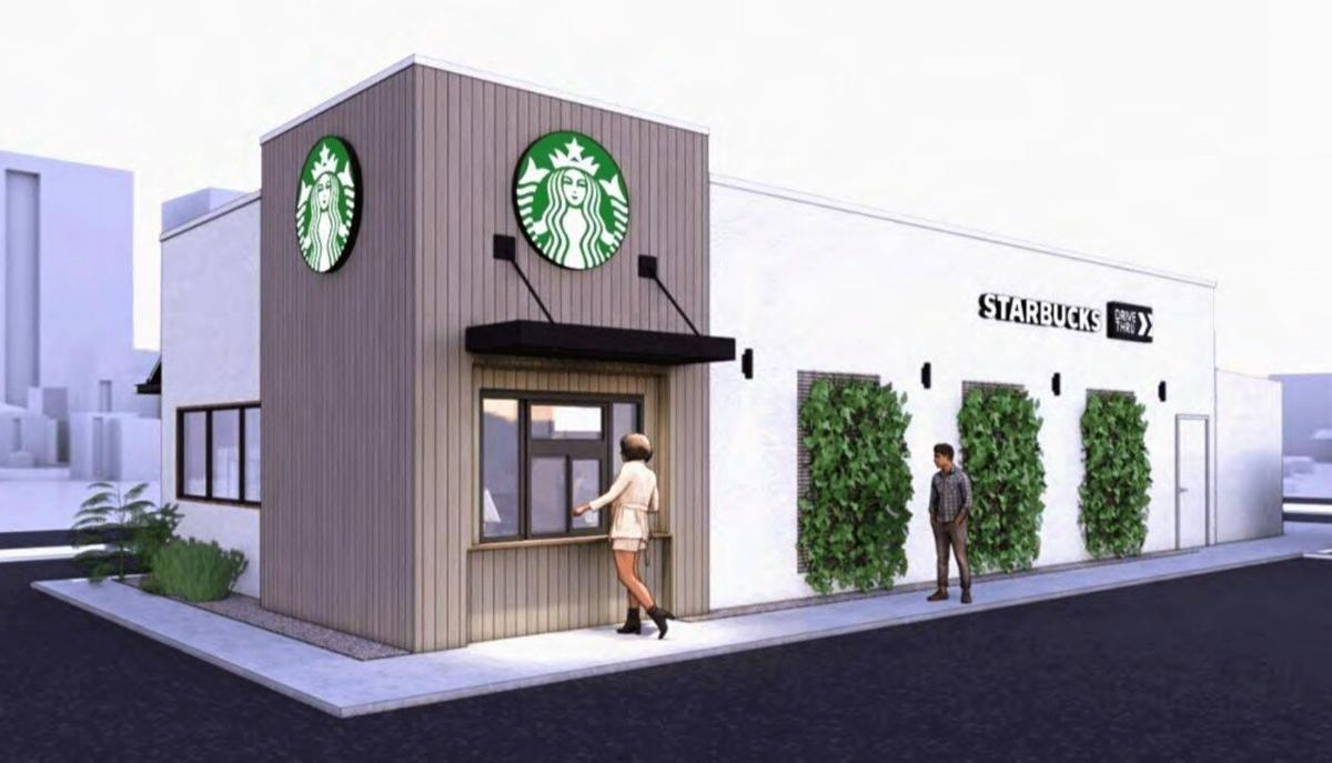 New Concept Starbucks located in Lewistown, Montana.