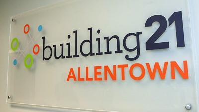 Building 21 logo Allentown school district