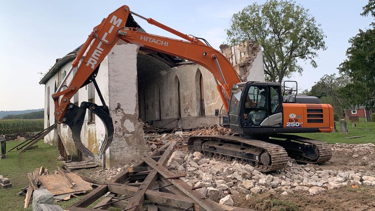 Church in Union Township demolished