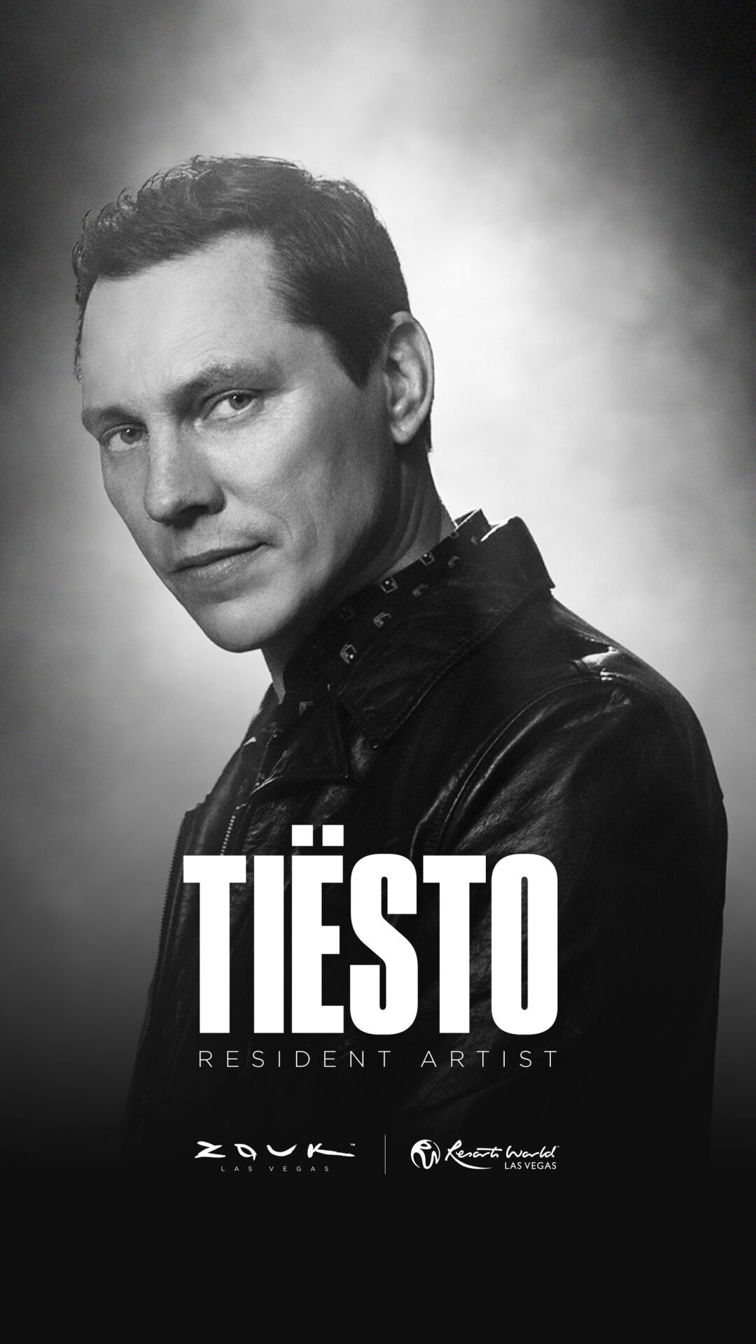 ZOUK GROUP ANNOUNCES TIËSTO AS RESIDENT DJ  AT RESORTS WORLD LAS VEGAS