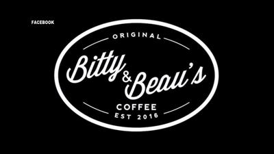 Bitty & Beau's Coffee sign logo