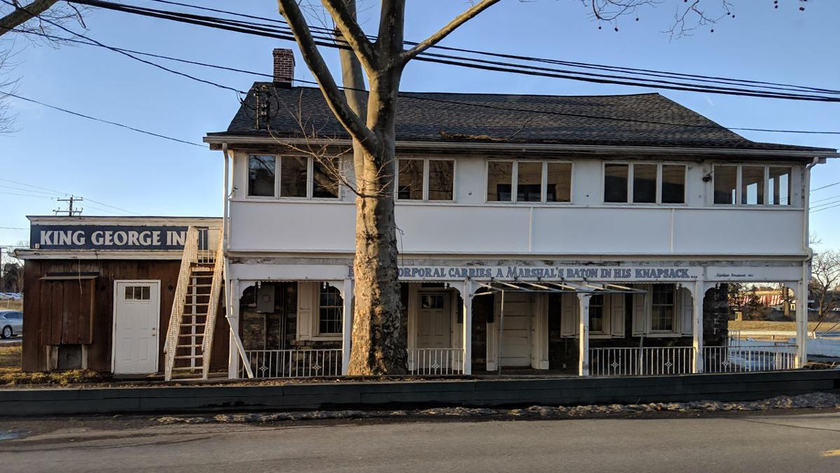 King George Inn in South Whitehall Township