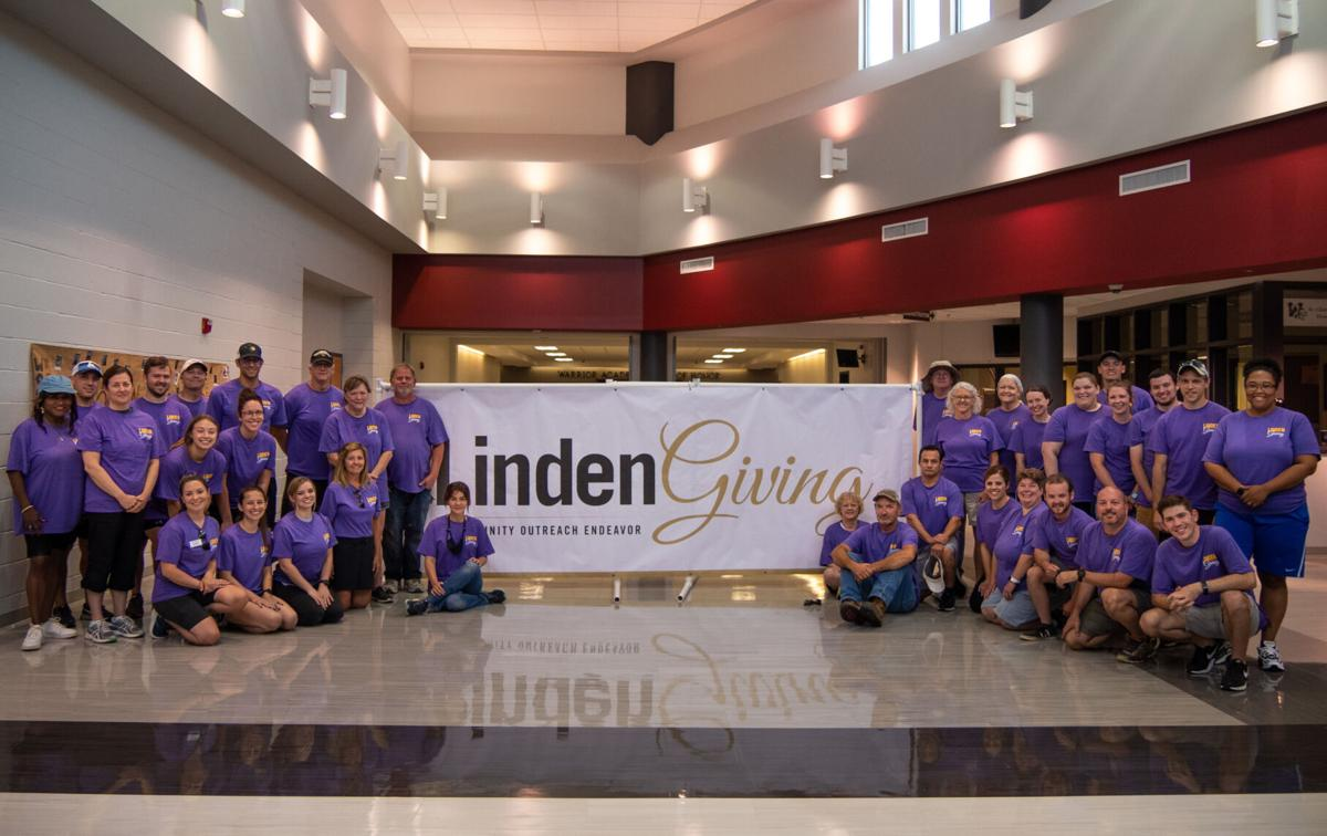 LindenGiving community outreach endeavor at St. Charles West High School