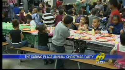 The Caring Place celebrates Christmas, community support