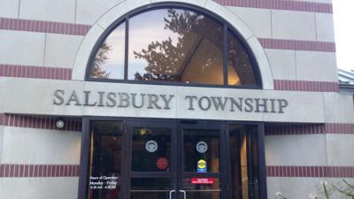 Salisbury Township sign, generic