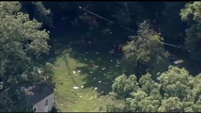 3 family members killed after small plane crashes in Montgomery County