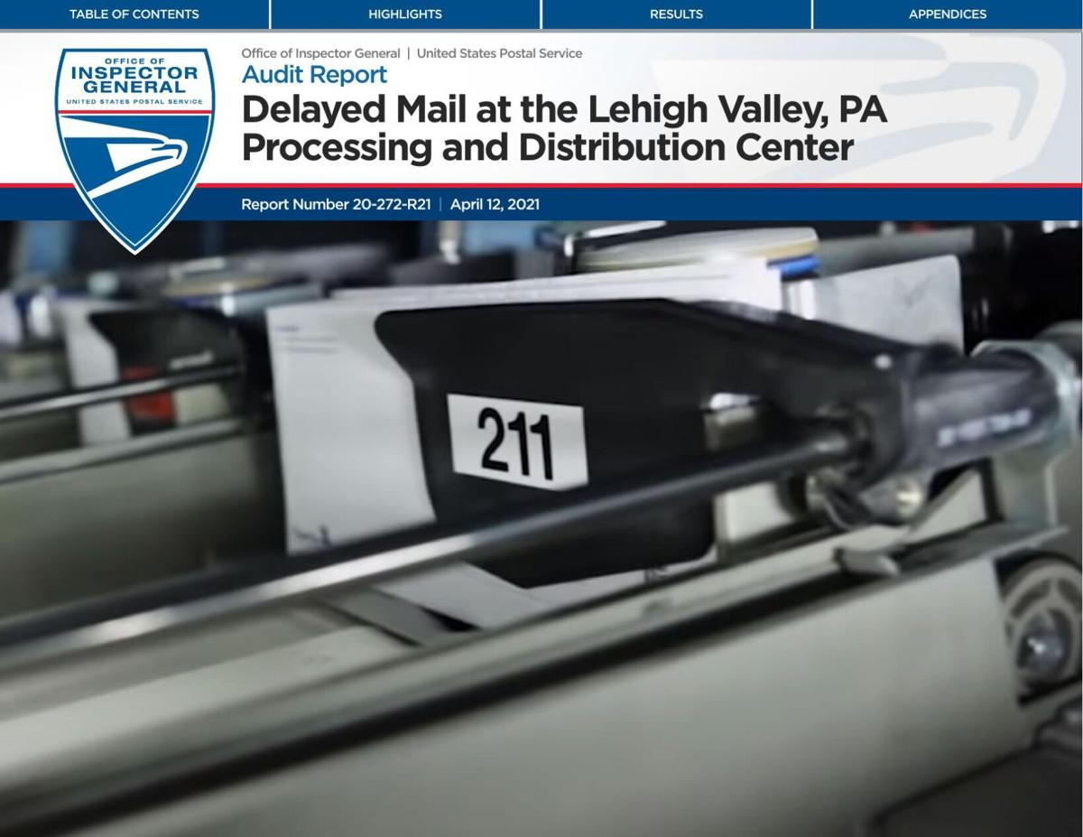 USPS Audit Report of Lehigh Valley facility