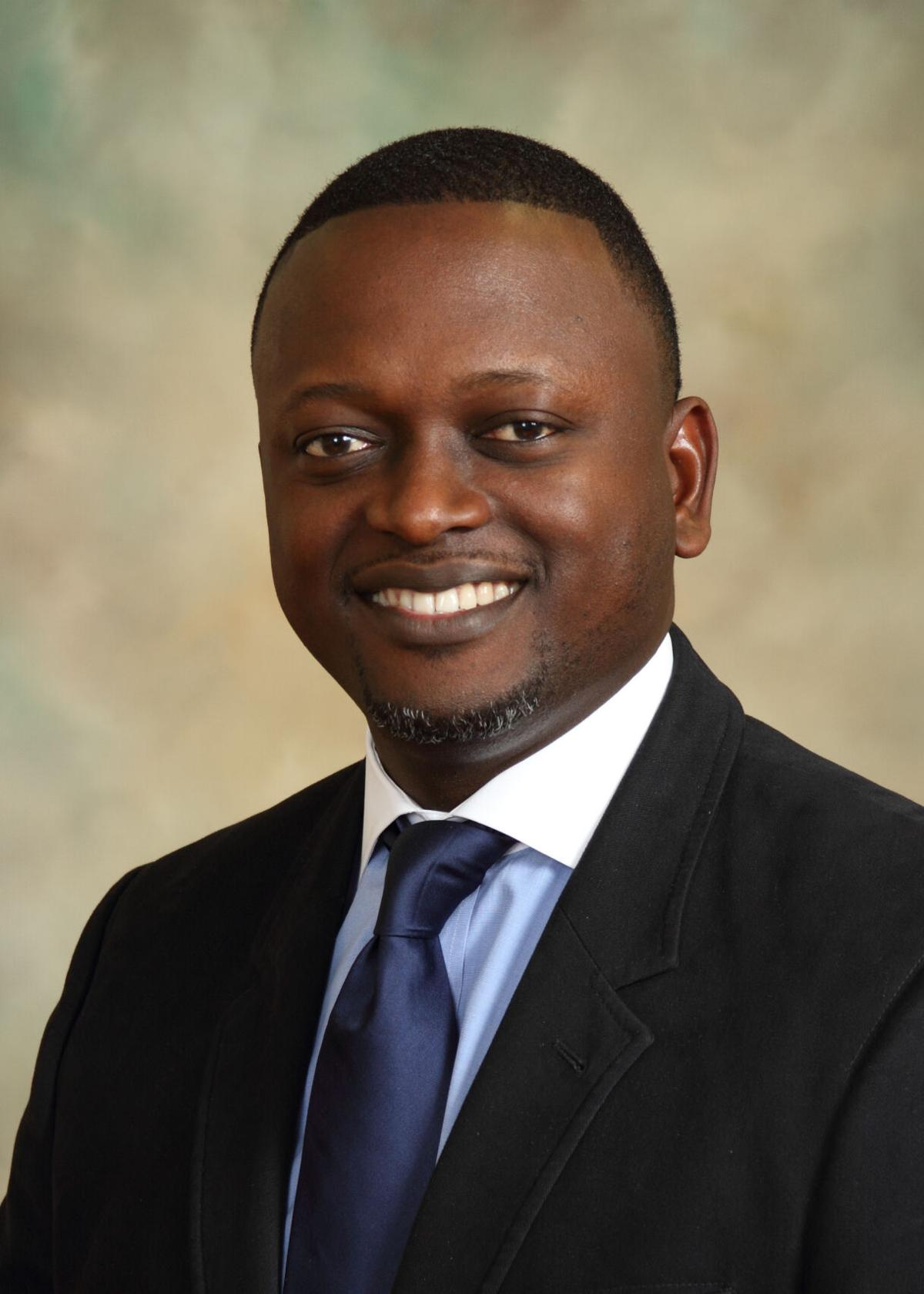 Oluseun Olukayode Alli, MD, Co-Chair for the ABC Structural Heart Disease Task Force and an Interventional Cardiologist at Novant Health Heart & Vascular Institute in Charlotte, NC.