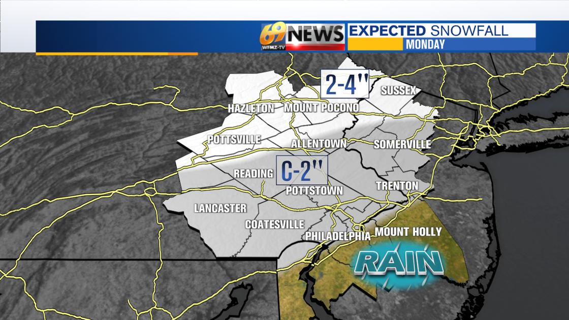 Tracking more snow next week | Weather | wfmz.com - 69News WFMZ-TV