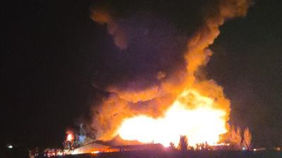 Upper Bern Township chicken house fire