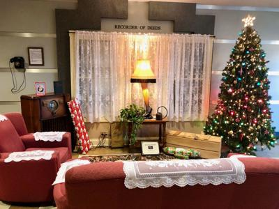 One Tank Trip: 'A Christmas Story' living room display