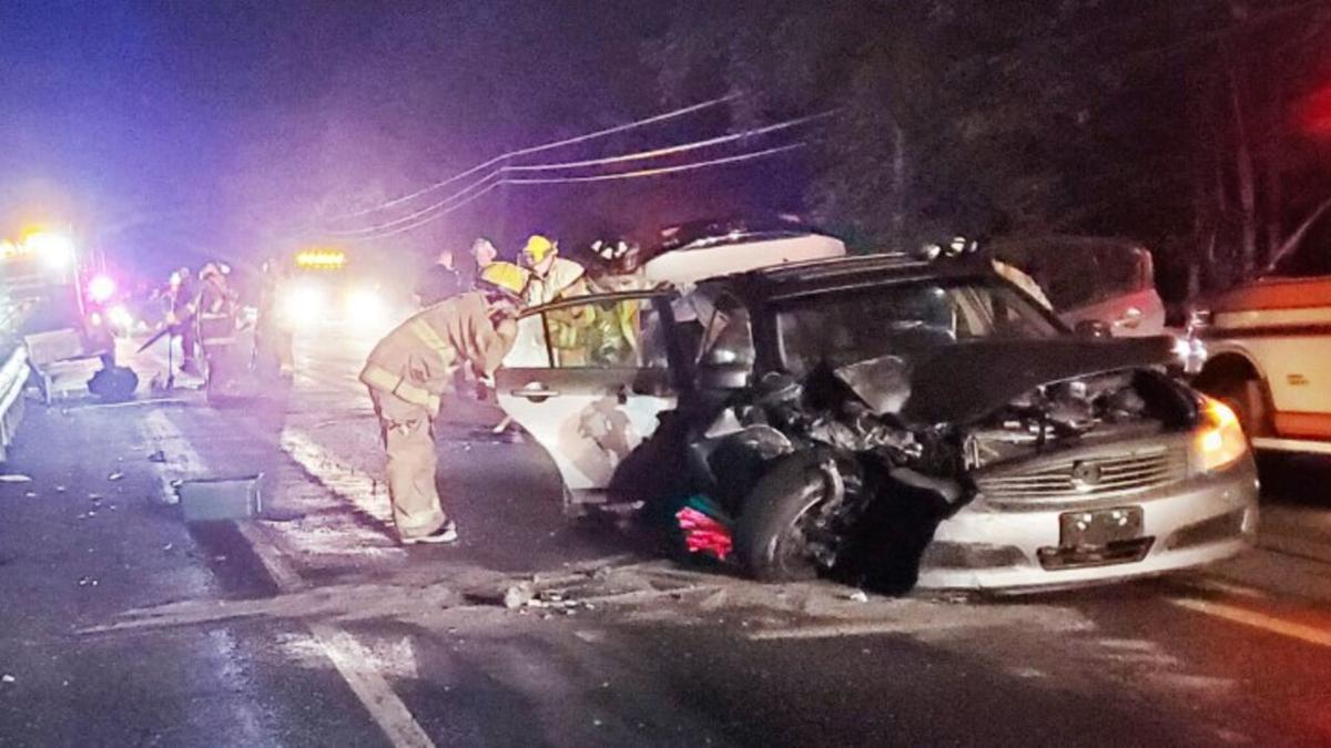Route 443 Mahoning Township crash