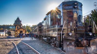 Colebrookdale Railroad train