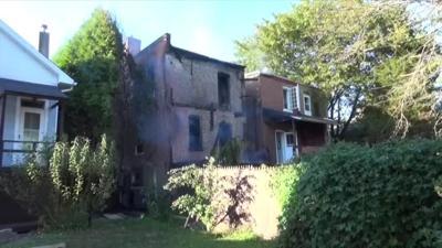 Crews battle house fire in Perkasie