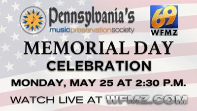 Pennsylvania Music Preservation Society Memorial Day celebration