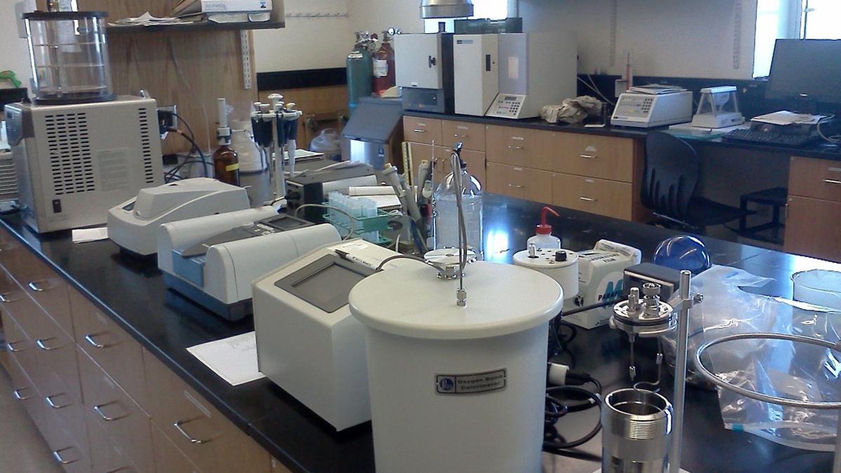 Albright College science lab