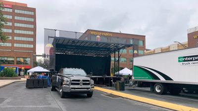 Stage set for Prince's former band to rock downtown Reading