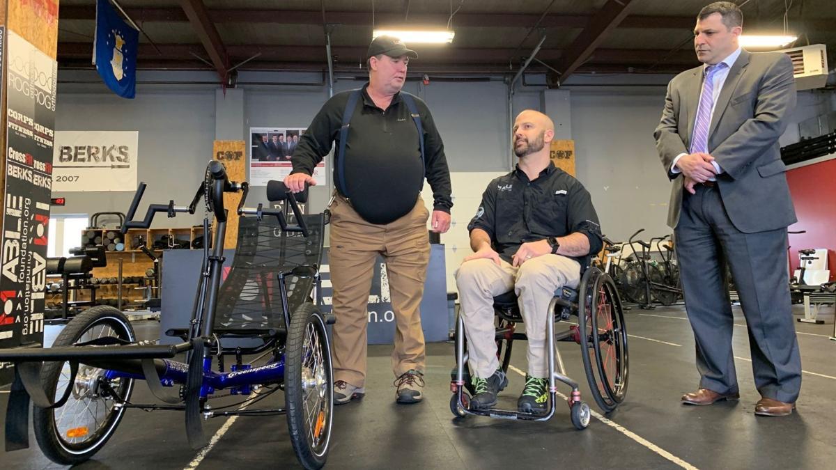 IM ABLE adaptive bike presentation