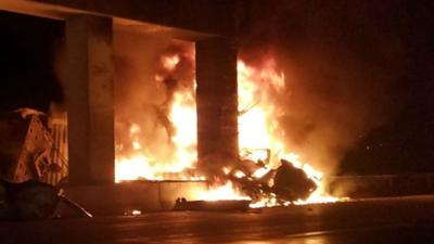 I-78 reopens after deadly tractor-trailer crash, fire