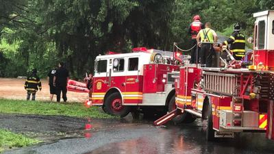 Heavy rain leads to flash flooding, water rescues in Berks