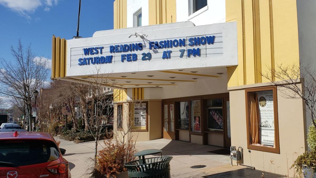 West Reading Fashion Show marquee