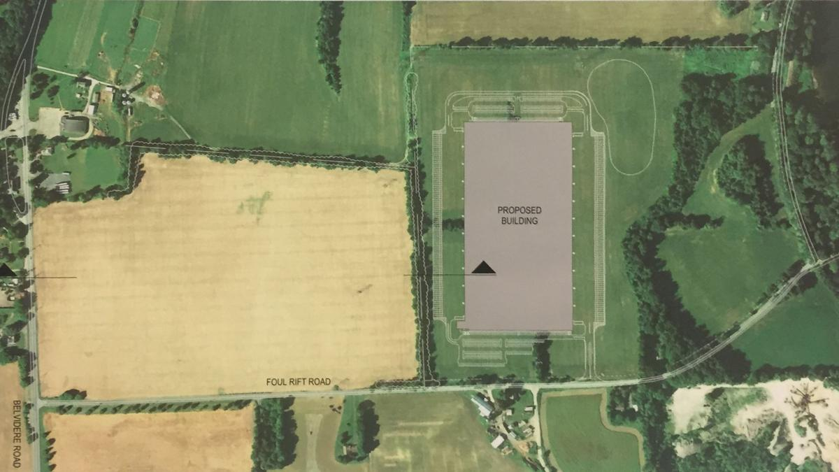 White Township Jaindl warehouse placement