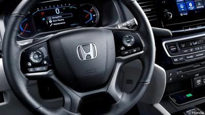 vehicle generic interior Honda steering wheel car automobile