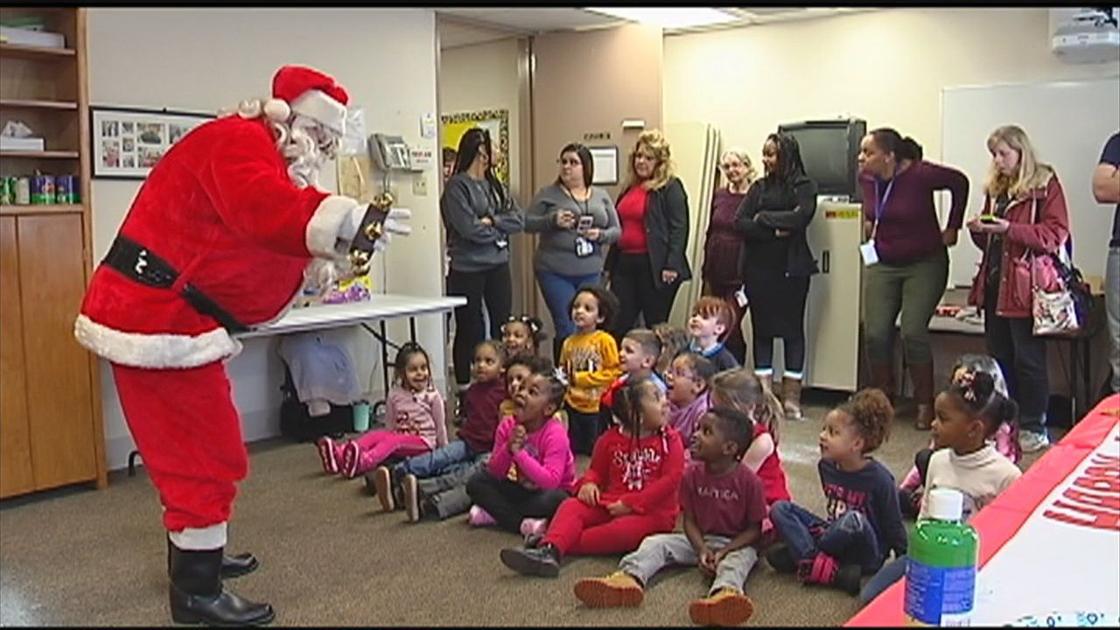 East Stroudsburg University students bring Christmas cheer, presents to Pocono preschoolers