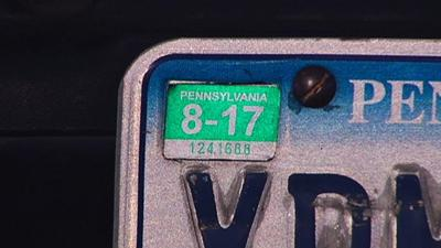 AAA offers tips for removing old license plate stickers