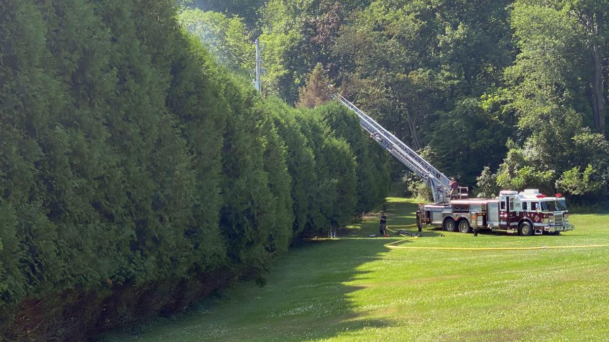 2-alarm fire in Pike Township