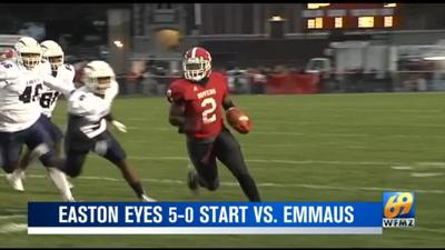 Easton eyes 5-0 start with Emmaus coming to town