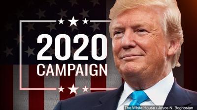 Trump campaign 2020 generic graphic