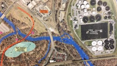Auburn Cross Trails Park plans in Allentown Nov 14 2019