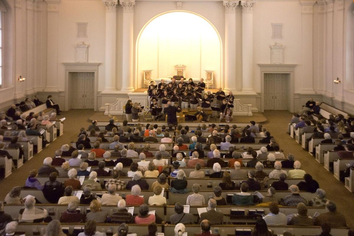 Bach at Noon concert in Bethlehem