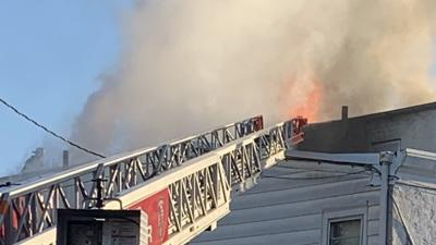 Set for tax sale, Reading rowhome, others damaged by fire