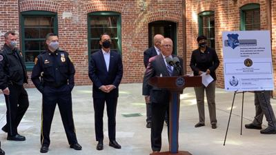 News conference on Berks joining drug treatment initiative